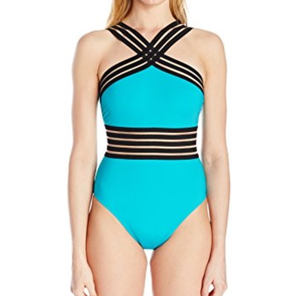 556a00bc3f3 Kenneth Cole Swim | Nwt New York One Peice Suit Large | Poshmark